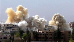 VIDEO: Cận cảnh không quân Nga trút 'mưa bom' vào các mục tiêu của IS