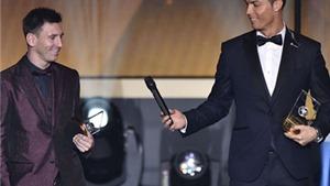 Giá trị thương hiệu của Cristiano Ronaldo cao hơn Lionel Messi