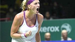 WTA Finals 2015: Kvitova nhen nhóm hy vọng