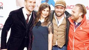 Lukas Podolski ra mắt phim đầu tay