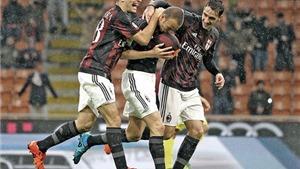 Milan 1-0 Chievo: Antonelli lập công, Milan lại thắng