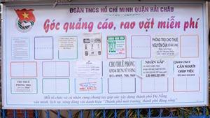 'Thành phố đáng sống' Đà Nẵng tuyên chiến với quảng cáo, rao vặt lộn xộn