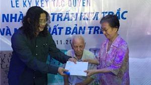 Nhà văn Trần Kim Trắc được ký kết tác quyền trọn đời