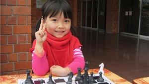 Cẩm Hiền vô địch thế giới cờ vua lứa tuổi U8