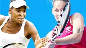 WTA Elite Trophy 2015: Venus và Pliskova vào chung kết