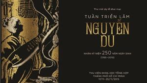 Triển lãm các tác phẩm của Nguyễn Du