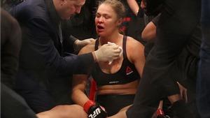 Bị hạ knock-out, nữ võ sỹ Ronda Rousey nhận trận thua đầu tiên trong sự nghiệp