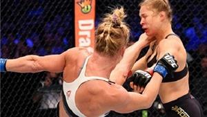 Xem khoảnh khắc Ronda Rousey bị Holly Holm hạ knock-out