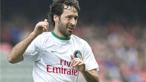 Raul Gonzalez & di sản để lại cho bóng đá