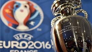 Lần đầu tiên VCK EURO có 24 đội tham dự