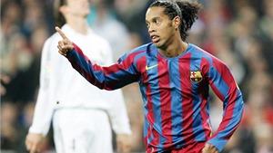 10 năm trước, fan Real ở Bernabeu đứng dậy vỗ tay trước 'ma thuật' của Ronaldinho