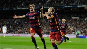 Real Madrid 0-4 Barca: 'Chấp' Messi, Barca vẫn đè bẹp Real
