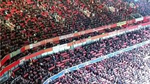 Sân Emirates vắng tanh ngày Arsenal đại thắng Dinamo Zagreb