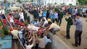 Thăm hỏi gia đình ngư dân bị bắn chết ở khu vực quần đảo Trường Sa