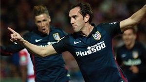 Granada 0-2 Atletico Madrid: Godin và Griezmann ghi bàn, Atletico đòi lại vị trí thứ 2