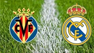 Link truyền hình trực tiếp và sopcast trận Villarreal - Real Madrid (02h30, 14/12)