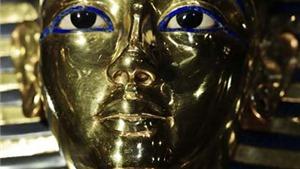 Mặt nạ vàng của vua Tutankhamun trở lại bảo tàng sau khi được gắn lại râu