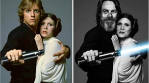 Ngắm dàn diễn viên 'Star Wars' ngày ấy - bây giờ