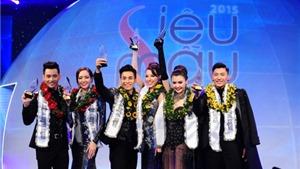 Khả Trang - Mai Tuấn Anh đoạt giải Vàng Siêu mẫu Việt Nam 2015