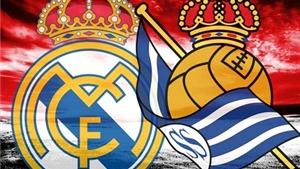 Link truyền hình trực tiếp và sopcast trận Real Madrid - Real Sociedad (22h00, 30/12)