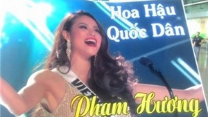 Chuyện vỉa hè: 'Hoa hậu quốc dân'