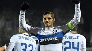 Empoli 0-1 Inter Milan: Icardi ghi bàn duy nhất, đưa Inter trở lại ngôi đầu