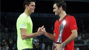 Federer lại đụng Raonic ở chung kết Brisbane International