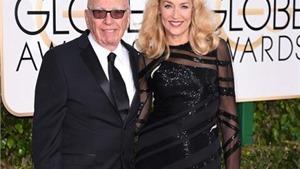 Trùm truyền thông Murdoch đính hôn bạn gái cũ của thủ lĩnh Rolling Stones Mick Jagger