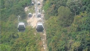 Khai trương tuyến cáp treo núi Chứa Chan (Đồng Nai)