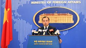 Việt Nam yêu cầu Trung Quốc chấm dứt hành động xâm phạm chủ quyền ở Hoàng Sa