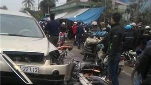 Hải Phòng: Ô tô nổ lốp gây tai nạn làm 5 người bị thương