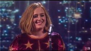 Video: Những màn diễn đỉnh của Adele, Justin Bieber, Cold Play tại giải Brit