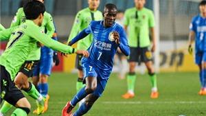 Champions League châu Á: Ramires nhận thẻ đỏ, Teixeira ghi bàn ra mắt ở Jiangsu