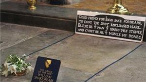 Dùng sóng radar giải mã bí ẩn trong mộ William Shakespeare