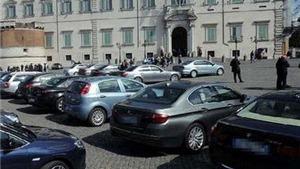 Italy xem xét đề xuất xử phạt nghiêm việc lạm dụng xe công vào việc riêng
