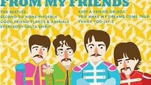 12 ca khúc ăn khách của The Beatles do George Martin sản xuất
