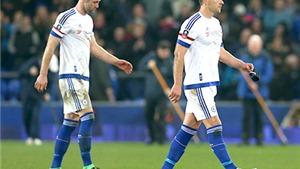 Thua Everton 0-2, Chelsea bị loại khỏi cúp FA: Game Over!