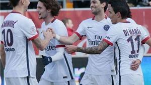 Thắng Troyes 9-0, PSG vô địch sớm nhất trong lịch sử Ligue 1