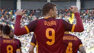 Udinese 1-2 Roma: Thắng trận thứ 8 liên tiếp, Roma tiếp tục hồi sinh
