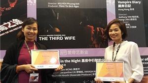 Dự án phim 'Người vợ thứ ba' của Việt Nam thắng lớn tại Hong Kong