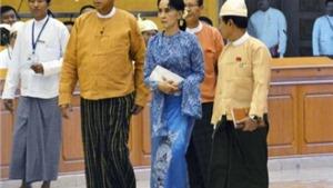 Tân Tổng thống Myanmar đề xuất thay đổi 2 chức danh của bà Aung San Suu Kyi