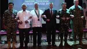 Mỹ, Philippines bắt đầu cuộc tập trận chung 'Vai kề vai'