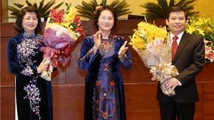 Cập nhật: Danh sách nhân sự cấp cao được Quốc hội bầu: Đã bầu được 3 tân Phó Thủ tướng