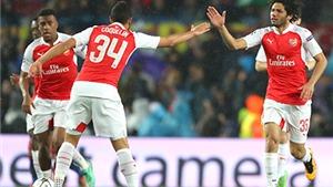 Arsenal: Xây trục giữa với Coquelin – Elneny