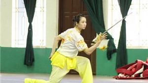 Thúy Vi khẳng định mình tại giải wushu toàn quốc