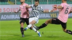 20h00 ngày 17/4, Juventus – Palermo: 3 điểm nữa cho Scudetto