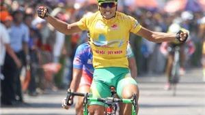 An Giang lập kỳ tích tại chặng 11 giải xe đạp HTV 2016