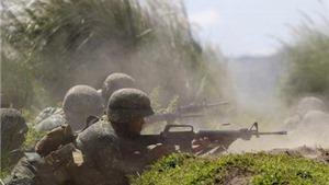 Quân đội Philippines giận dữ dội bom vào nhóm Abu Sayyaf sau khi con tin bị chặt đầu