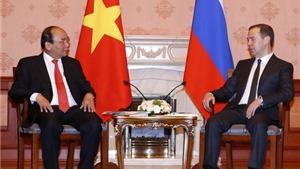 Các thỏa thuận hợp tác Việt - Nga vừa được ký kết giữa một số bộ ngành, tập đoàn kinh tế