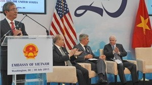 ĐỒ HỌA: Quan hệ đối tác toàn diện Việt Nam - Hoa Kỳ